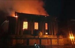 Bloemfontein City Hall Fire