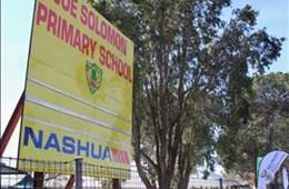 R150 million school infrastructure partnership launched at Joe Solomon Primary School in Bloemfontein
