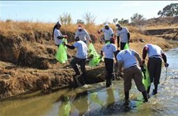 Department of Water and Sanitation Clear Rivers campaign