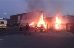 Welkom Mini Market Fire