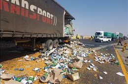 Trompsburg Accident