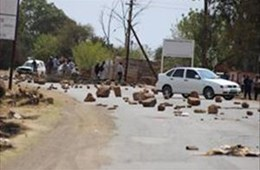 Chaos again erupts in Koffiefontein