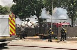 Hamilton Warehouse Fire