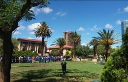 #DAProtest against Free State Premier Ace Magashule