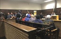 #Gupta, accused in #VredeDairy project, in Bloemfontein court #EstinaDairyProject #GuptaRaid #Guptas #GuptasAccused