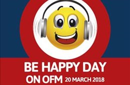 Be Happy Day on OFM 2018