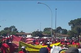 #SAFTUstrike Bloemfontein