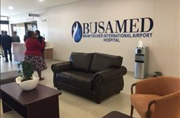 Busamed's newly opened Bram Fischer International Airport Hospital