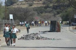 Koffiefontein protests September 2018