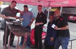 #OFMStreetSquad @ Lombard Tyres, Welkom