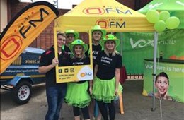 #OFMStreetSquad @ Vox Fibre promotion