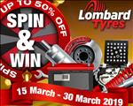 Win with Lombard Tyres