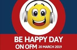 #OFMBeHappy Day 2019