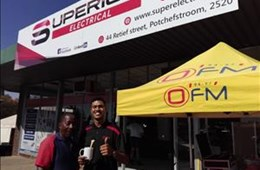 #OFMStreetSquad @ Superior Electrical Potchefstroom
