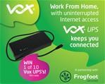 Win with Vox & Frogfoot!