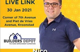 LiveLink@Builders Depot 30th Jan 2021