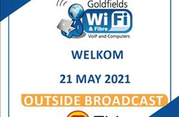 Goldfields WiFi brings fibre to Matjhabeng - Outside Broadcast 21 May 2021