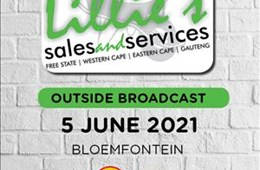 Lillie's Sales and Services Outside Broadcast 5 June 2021