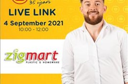Zigmart Potchefstroom Live Link - 04 September  2021